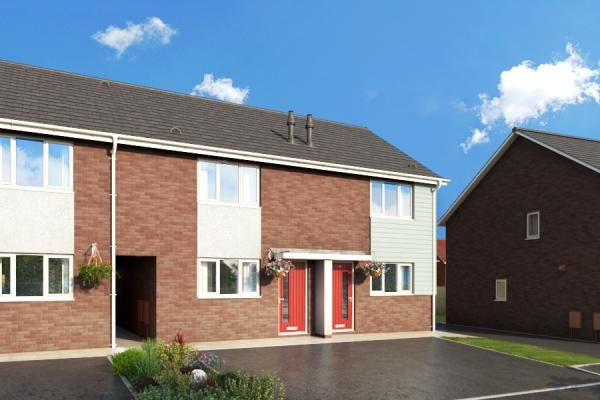 "2 bed property for sale in ""The Buttercup At Meadow View, Shirebrook"" at Brook Park East Road, Shirebrook, Mansfield"