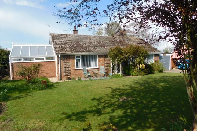 Thumbnail Detached bungalow for sale in Church Road, Westhorpe, Stowmarket
