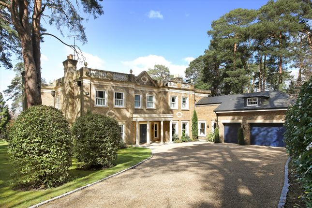 Thumbnail Detached house for sale in Brooks Close, St George's Hill, Weybridge, Surrey