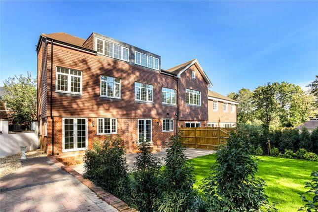 Thumbnail Semi-detached house for sale in Chobham Road, Sunningdale, Berkshire
