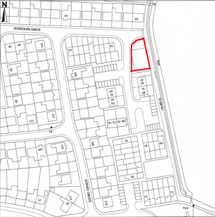 Thumbnail Land for sale in Sunholme Drive, Wallsend