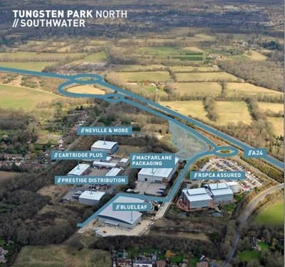Thumbnail Light industrial to let in Tungsten Park South, Oakhurst Business Park, Southwater, Horsham, West Sussex