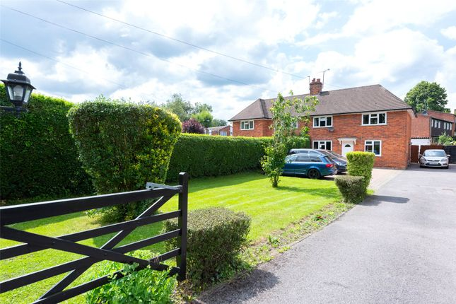 Thumbnail Semi-detached house for sale in London Road, Ruscombe, Reading, Berkshire