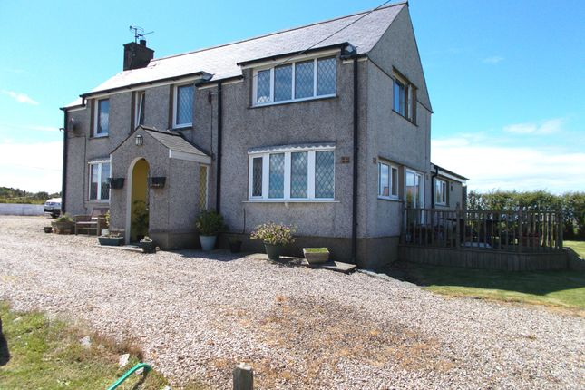 Thumbnail Detached house for sale in Dinas, Pwllheli
