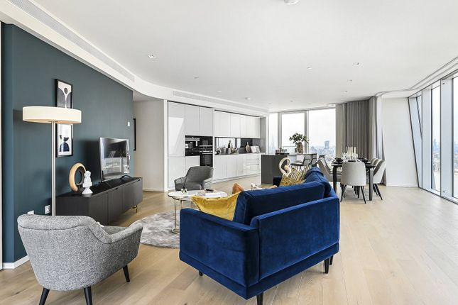 Thumbnail Flat to rent in Newfoundland Place, Canary Wharf