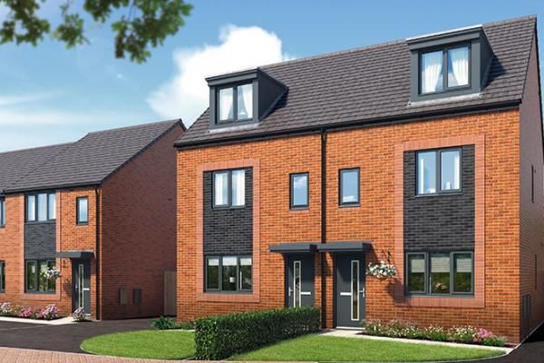 "Thumbnail Property for sale in ""The Kepwick At Riverbank View "" at Concord Place, Salford"