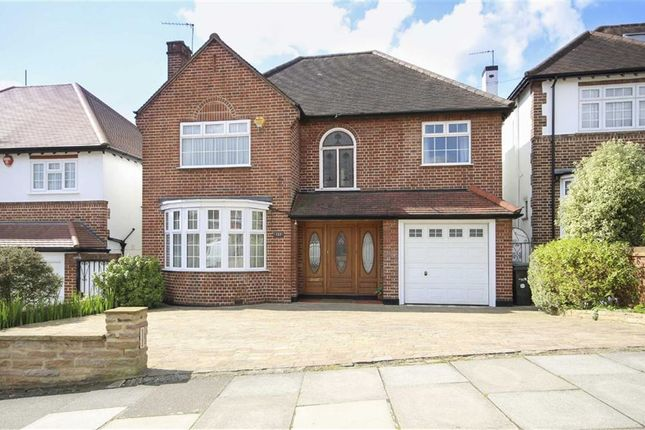 4 bed detached house for sale in Wades Hill, Winchmore Hill, London