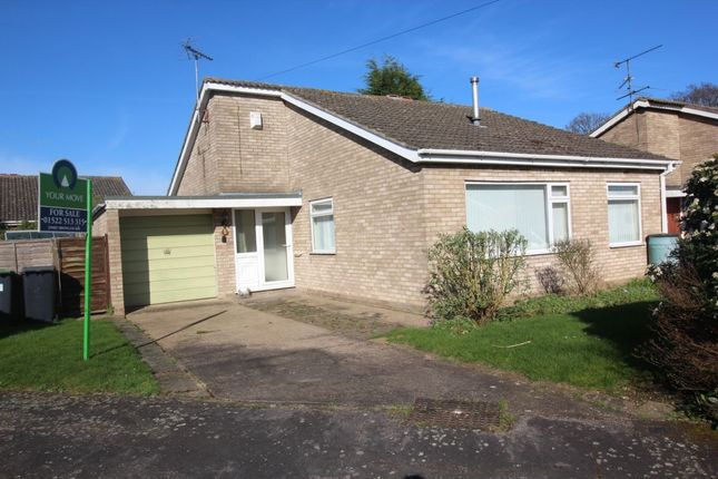 Thumbnail Bungalow for sale in Mallard Close, Skellingthorpe, Lincoln