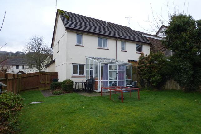 Thumbnail Semi-detached house to rent in Oaktree Park, Sticklepath, Okehampton