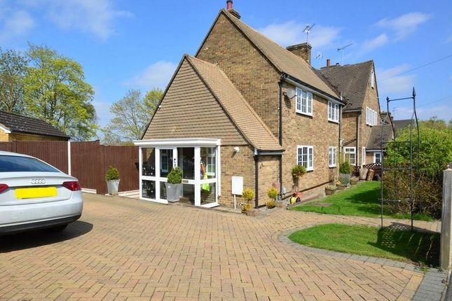 Thumbnail Terraced house to rent in Lockley Crescent, Hatfield, Hertfordshire