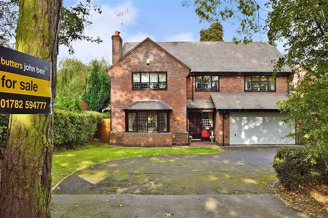 Thumbnail Detached house for sale in Pinetree Drive, Blythe Bridge, Stoke-On-Trent