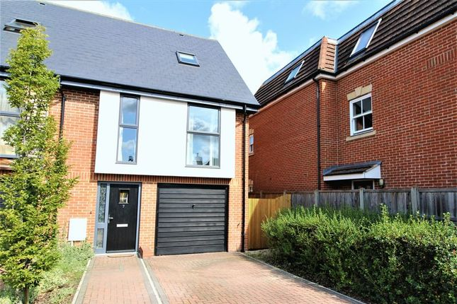 Thumbnail End terrace house for sale in Faircross Court, Thatcham