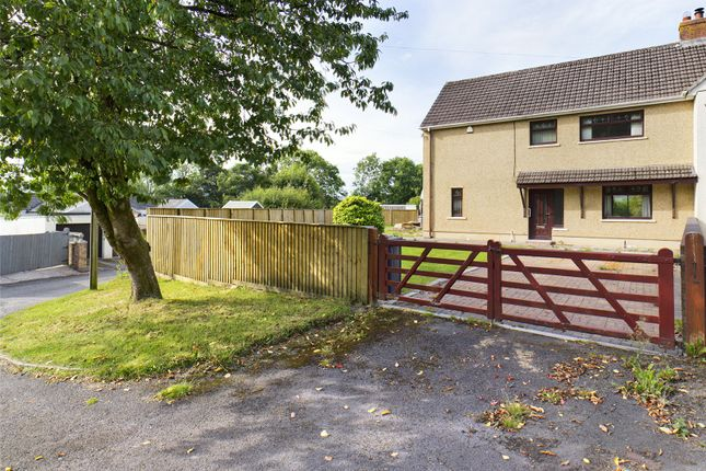 Thumbnail Semi-detached house for sale in Hawthorn Road, Beaufort, Ebbw Vale, Gwent