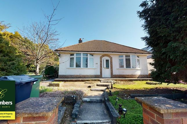 Thumbnail Detached bungalow for sale in Heol Stradling, Cardiff