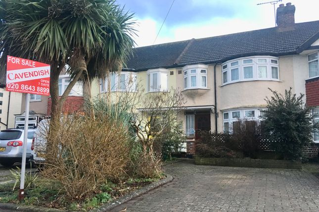 Thumbnail Terraced house for sale in Windsor Avenue, Cheam