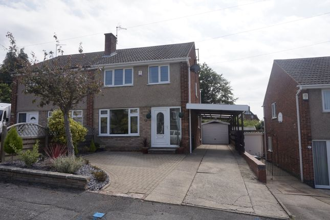 Thumbnail Semi-detached house to rent in Holmebank East, Brockwell, Chesterfield
