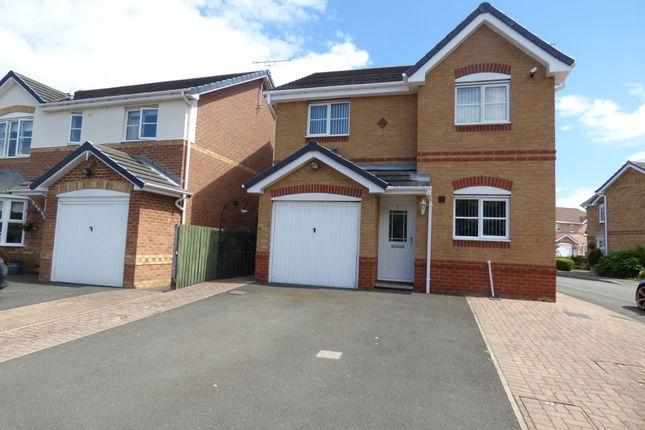 Thumbnail Detached house for sale in Warren Court, Ashington