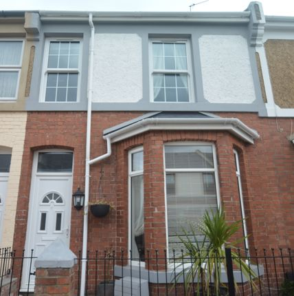 Thumbnail Terraced house to rent in Hingston Road, Torquay