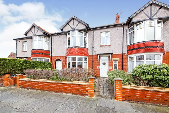Terraced house for sale in Claremont Gardens, Whitley Bay, Tyne And Wear