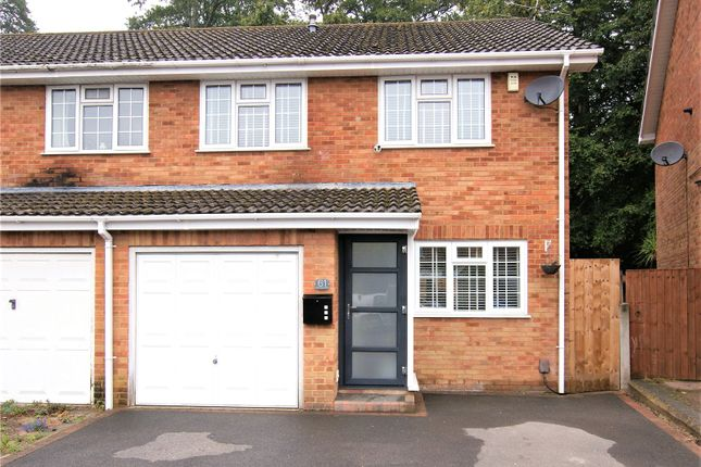 3 bed semi-detached house for sale in Blackbird Close, Poole BH17