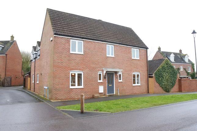 Thumbnail Detached house for sale in Kingfisher Avenue, Gillingham, Dorset
