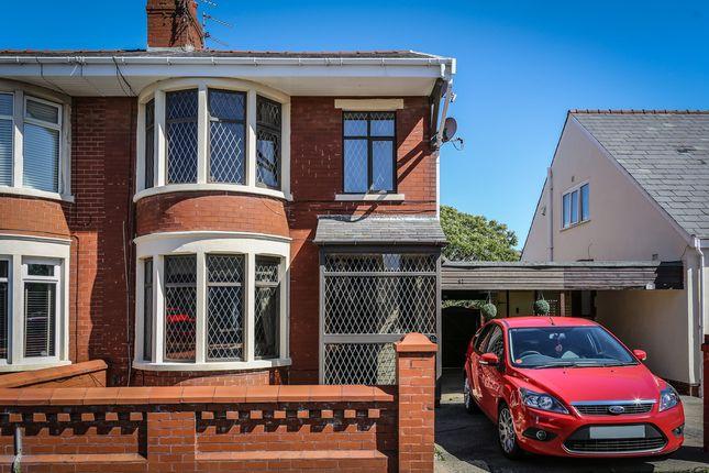 Thumbnail Semi-detached house for sale in Bamton Avenue, Blackpool