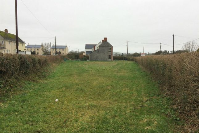 Thumbnail Land for sale in Land Adjacent To Hawthorne Cottage, Scurlage, Swansea