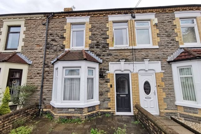 Thumbnail Terraced house for sale in Pontygwindy Road, Caerphilly