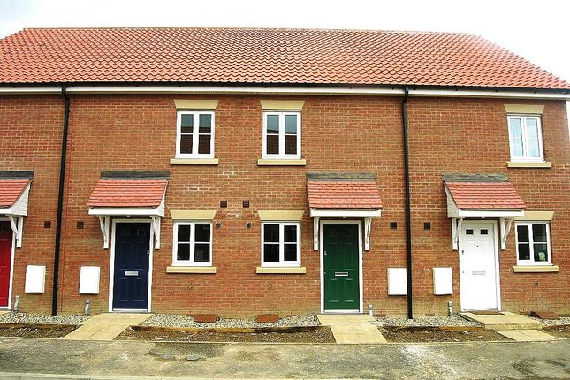 Thumbnail 3 bed terraced house to rent in Castle Gardens, Kesgrave, Ipswich