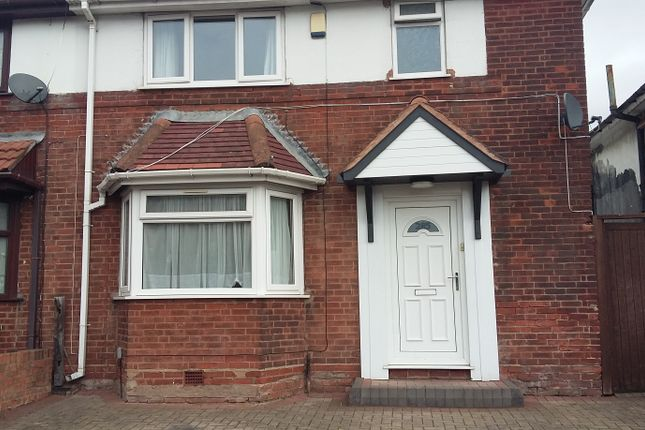Thumbnail Semi-detached house to rent in Wellington Road, Perry Barr
