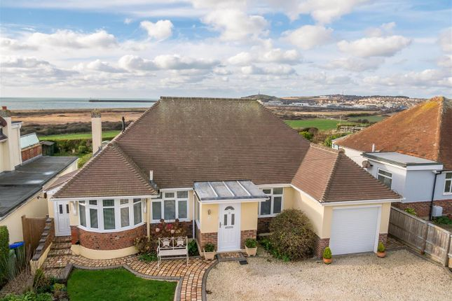 Thumbnail Detached bungalow for sale in Marine Drive, Bishopstone, Seaford