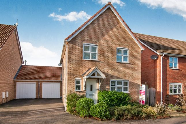 Thumbnail Detached house for sale in Green Acre Close, Mundford, Thetford