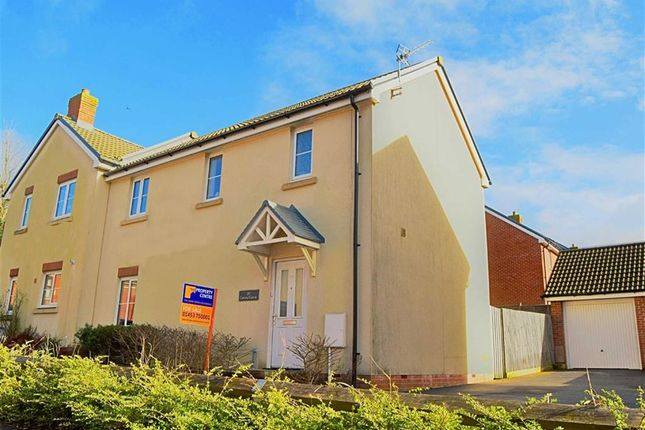 Thumbnail Semi-detached house for sale in Cromwell Close, Newtown, Berkeley