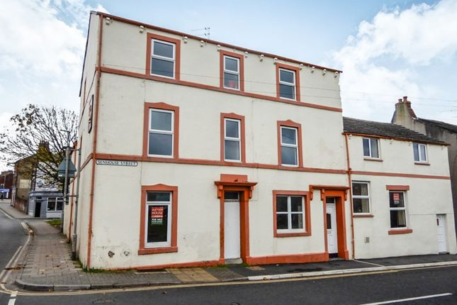 Thumbnail Block of flats for sale in 1 Senhouse Street, Workington, Cumbria