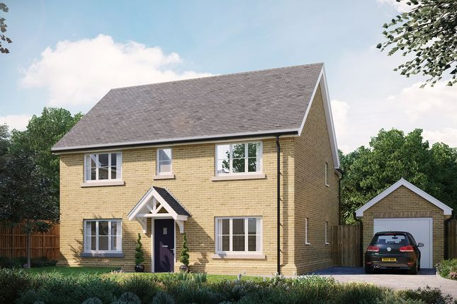 Thumbnail Detached house for sale in The Livingston At Eastwood, Gardiners Park Village, Chelmsford