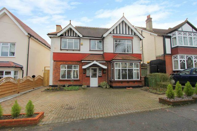 Thumbnail Detached house for sale in Grosvenor Avenue, Carshalton