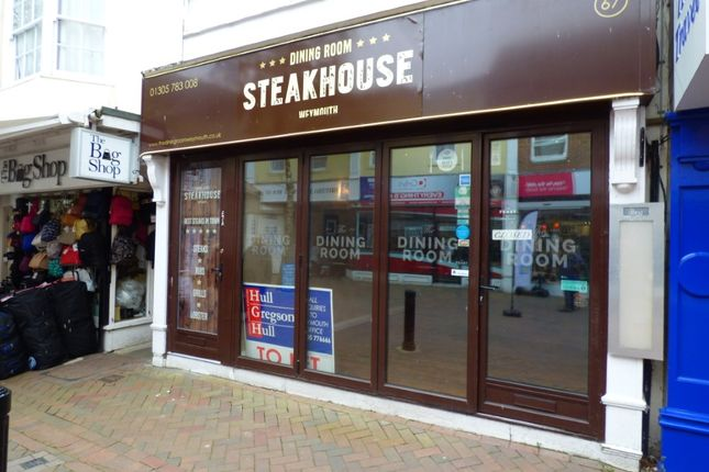 Thumbnail Restaurant/cafe to let in St Mary Street, Weymouth