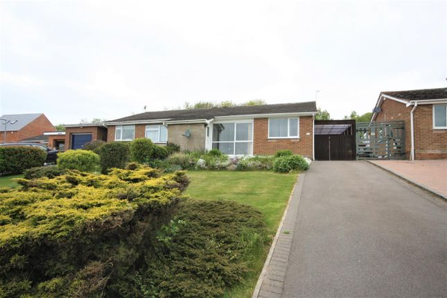 Thumbnail Semi-detached bungalow for sale in St. Michaels Close, Markfield