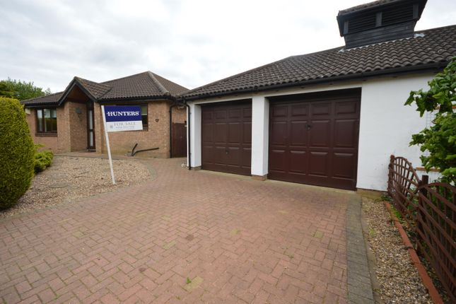 Thumbnail Detached bungalow for sale in Broom Way, Narborough, Leicester