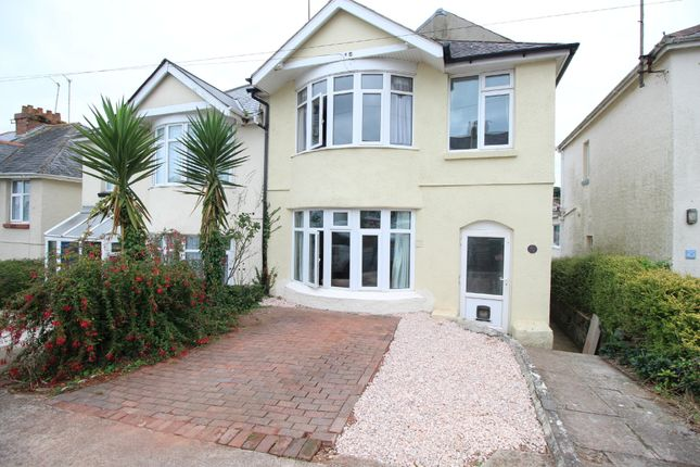 Thumbnail Semi-detached house for sale in Marldon Avenue, Paignton