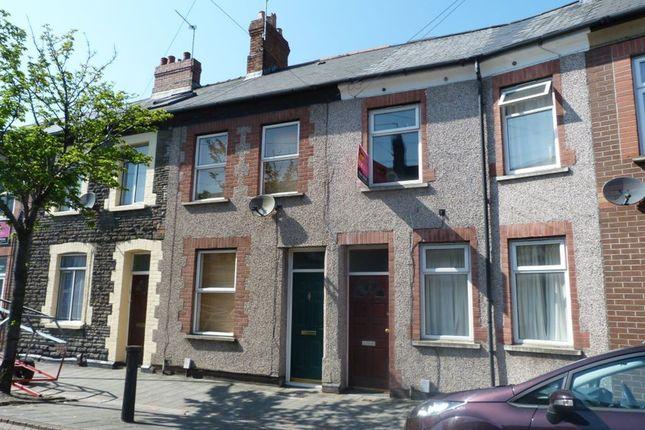 Thumbnail Flat to rent in Cyfarthfa Street, Roath, Cardiff