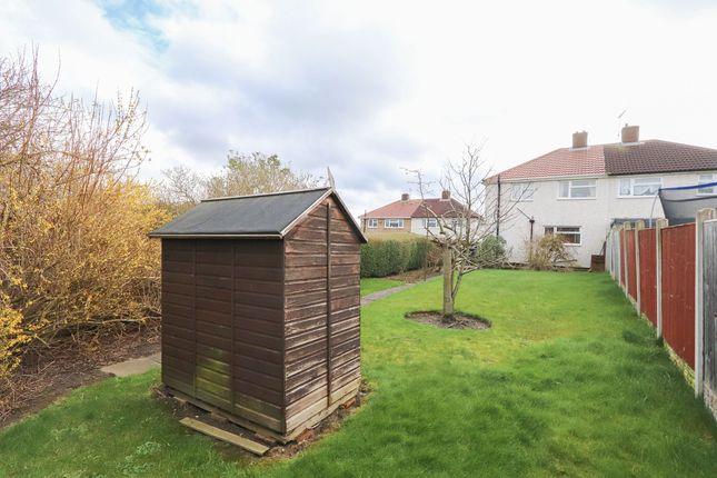 Rear Garden of Webster Croft, Old Whittington, Chesterfield S41