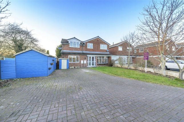 Thumbnail Detached house for sale in Burnell Road, Admaston, Telford, Shropshire