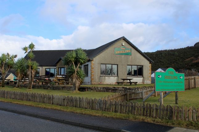 Thumbnail Restaurant/cafe for sale in The Shieling Restaurant, Macintyre Road, Gairloch, Ross-Shire