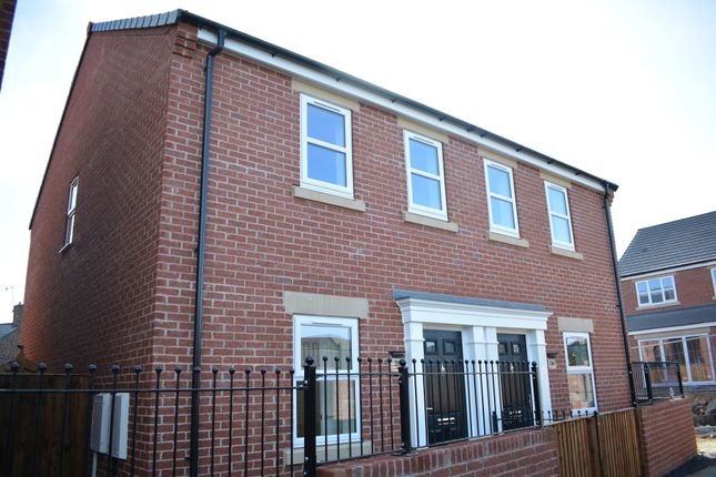 Thumbnail Semi-detached house for sale in Hunters Walk, Lime Tree Park, Saltergate