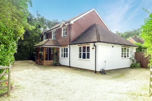 Thumbnail Detached house for sale in Burdenshot Road, Worplesdon, Guildford