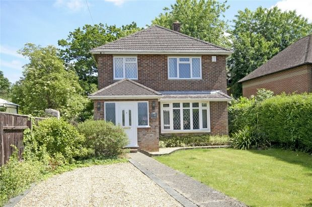 Thumbnail Detached house for sale in Bickerley Road, Ringwood