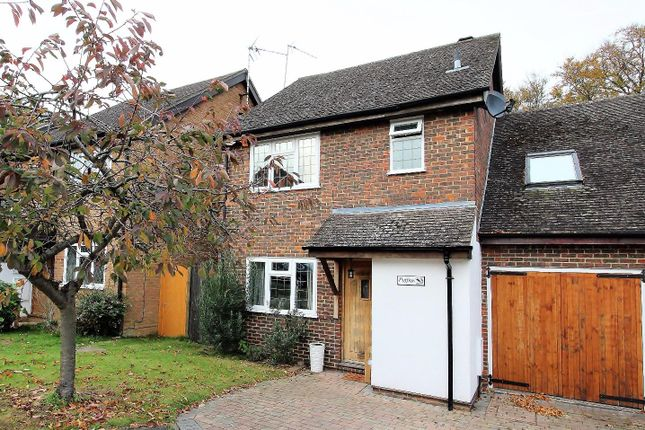 Thumbnail Link-detached house for sale in Robin Hill, Godalming