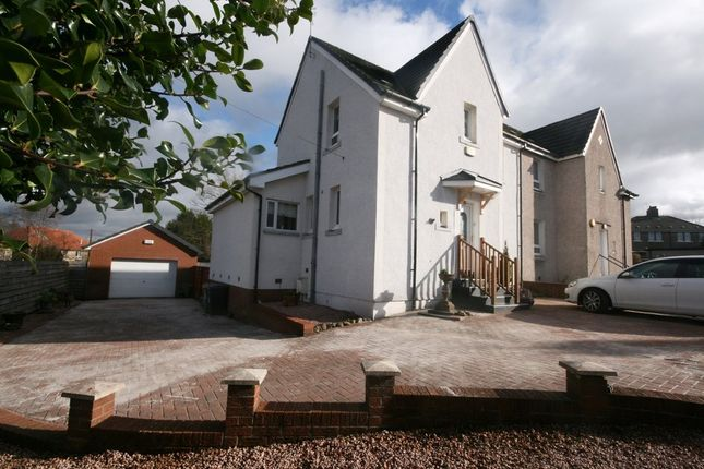 Thumbnail Semi-detached house for sale in Lithgow Avenue, Kirkintilloch, Glasgow