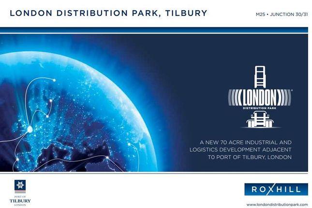 Thumbnail Land to let in London Distribution Park, Tilbury, Essex